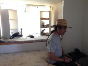 Ken Campos, caretaker of Live Oaks Monastery.