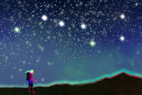 Big Bear Constellation Adventure Art by Katana Leigh DuFour