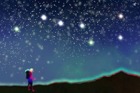 Big Bear Constellation Adventure Art by Katana Leigh DuFour