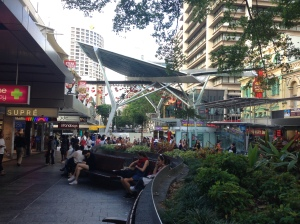 brisbane outdoor mall