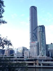 brisbane, pedestrian bridge, australia