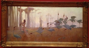 painting, Queensland Art Gallery, Sydney Long