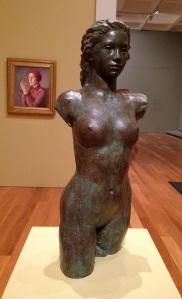 sculpture, Queensland Art Gallery, Daphne Mayo