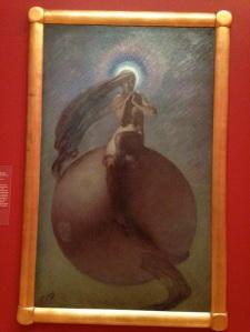 painting, Queensland Art Gallery, Bernard Hall