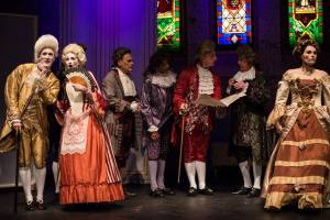 Mark Banks, Michelle Lunicke, Genesian Theatre, Amadeus