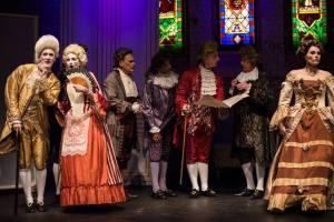 Mark Banks, Michelle Lunicke, Genesian Theatre, Amadeus