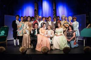 Amadeus, Genesian Theatre, 2014, Michelle Lunicke, Mark Banks