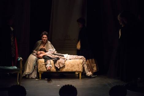 Mark Banks, Amadeus, Genesian Theatre, 2014